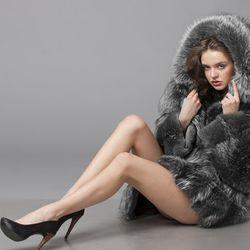 Got a vintage fur coat and high heels? Congratulations, you're a Russian gangster's girlfriend. Image via belife2007/Shutterstock.