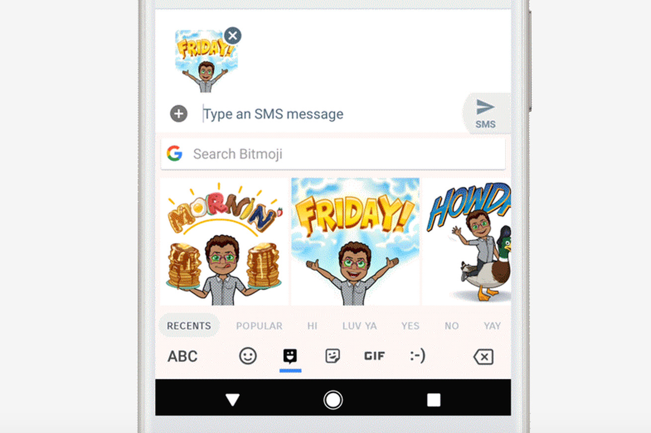 google s gboard now guesses what gifs and stickers you want to send