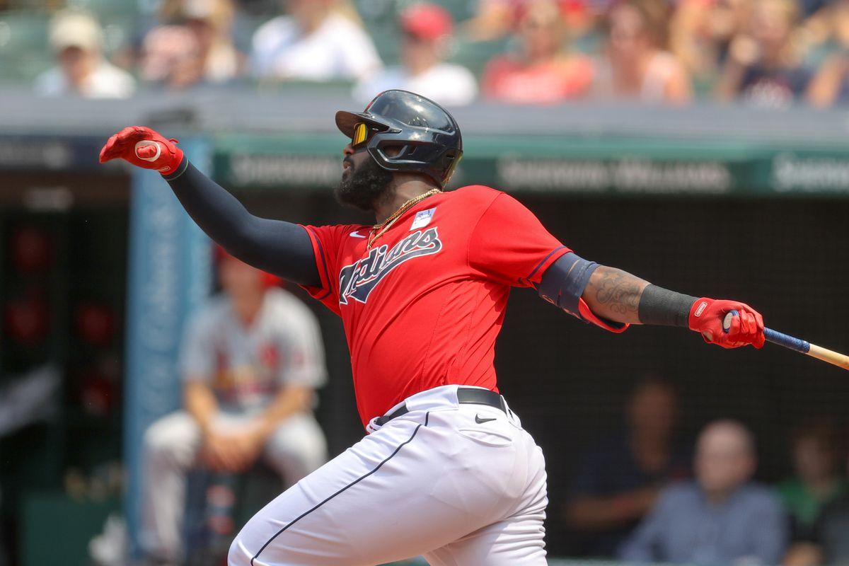 MLB: JUL 28 Cardinals at Indians