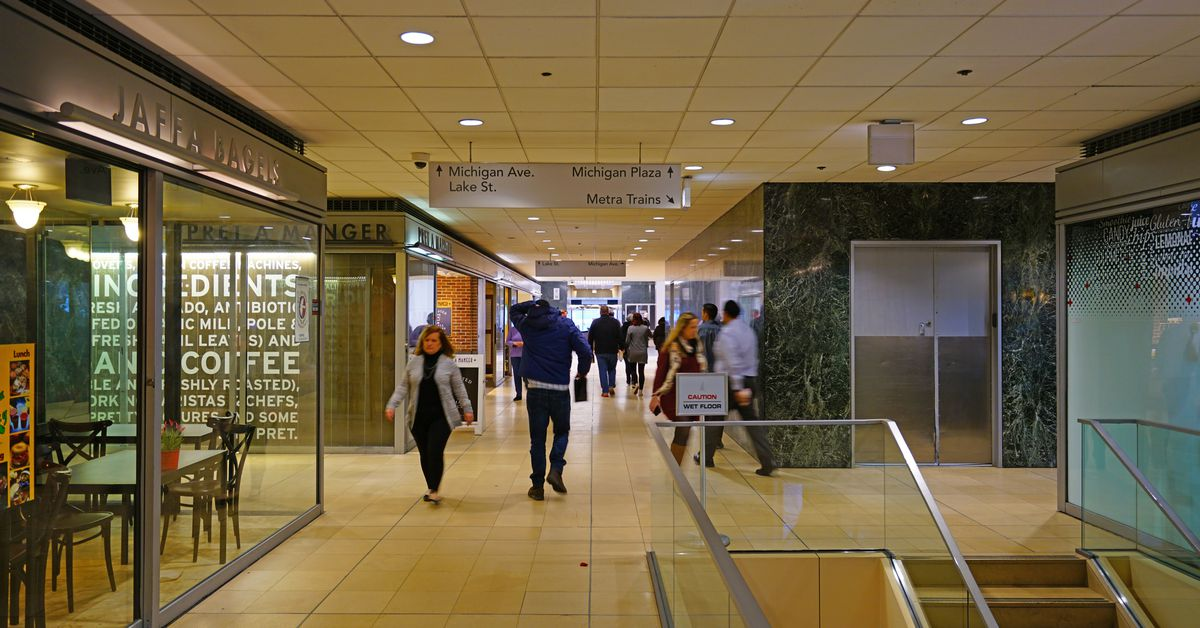A walk through the Chicago Pedway - Curbed Chicago