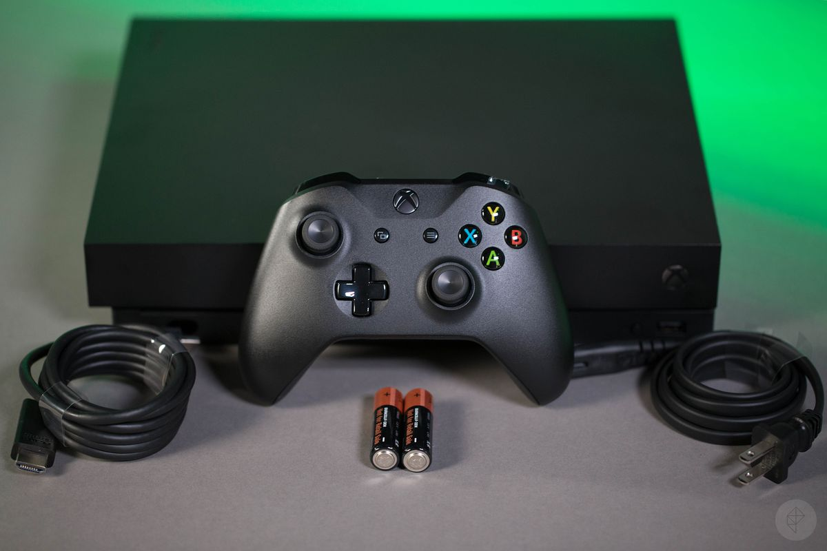 The Xbox One X Looks Unremarkable Except For Its Size