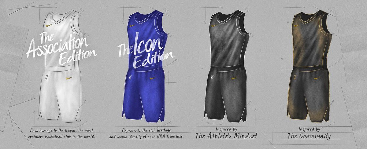 02449b4396d The NBA is ditching traditional  home and away  uniforms - SBNation.com