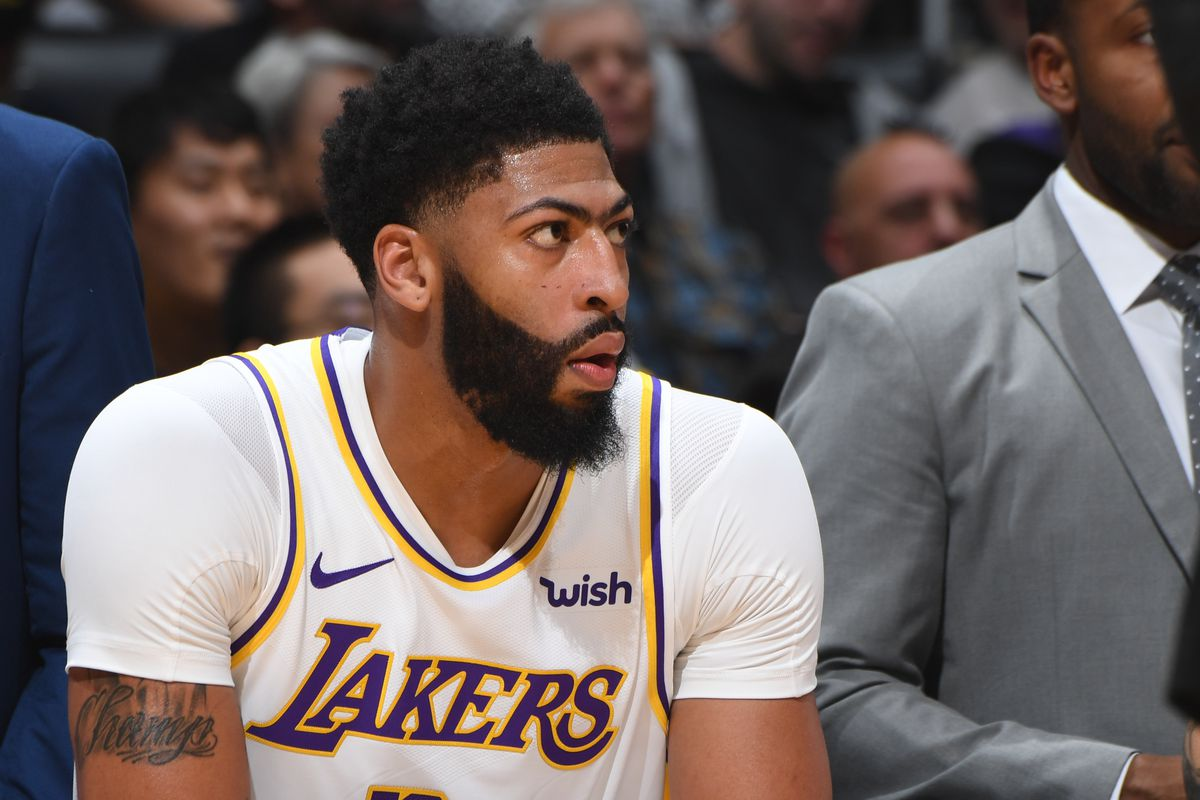 Anthony Davis Says Lakers Suck Defensively Right Now
