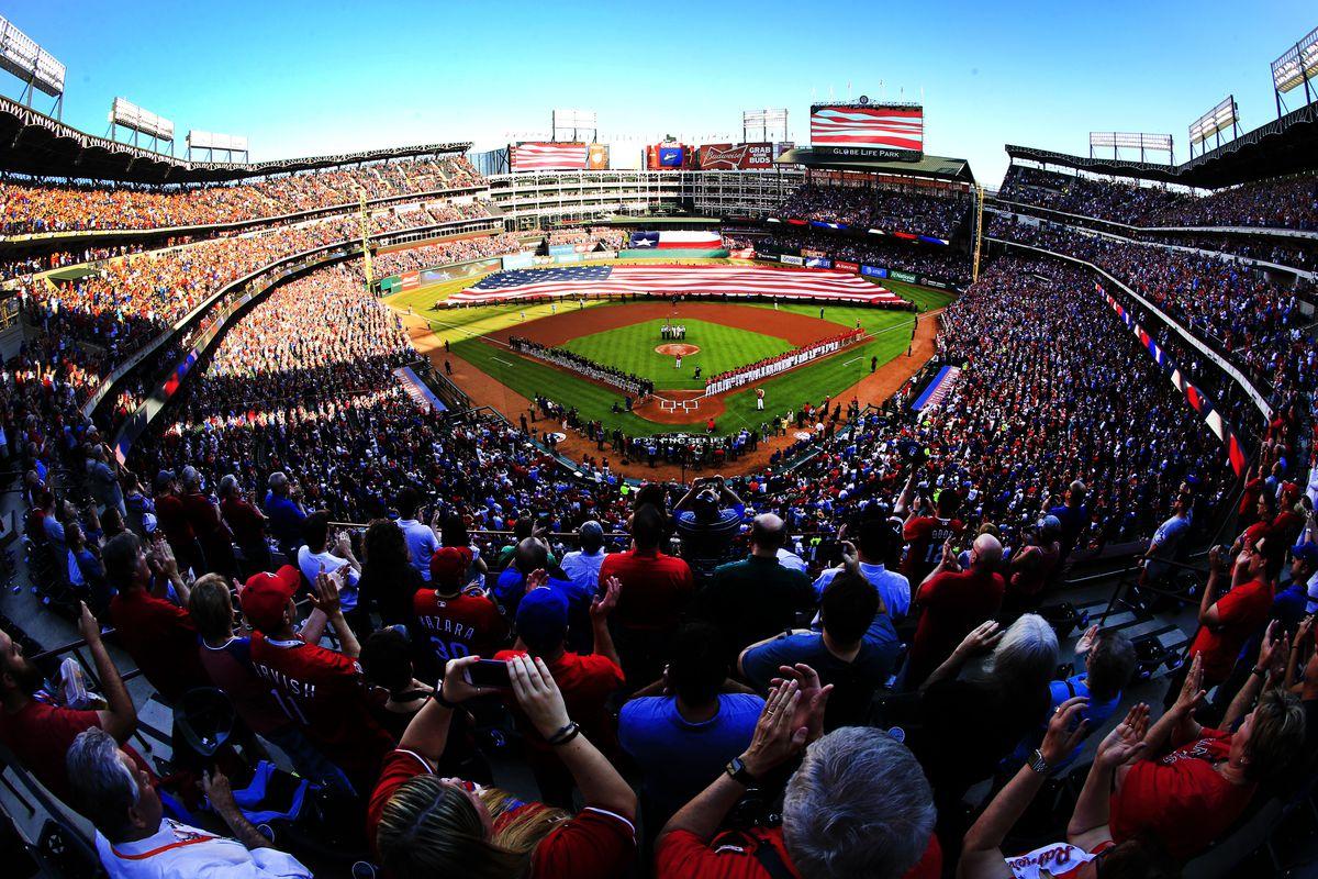 Cleveland Indians v Texas Rangers