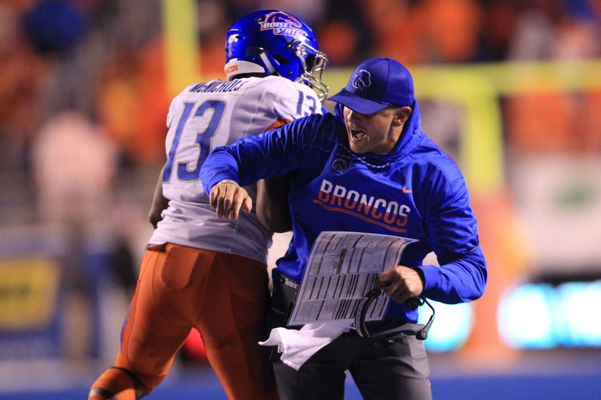 NCAA Football: Colorado State at Boise State