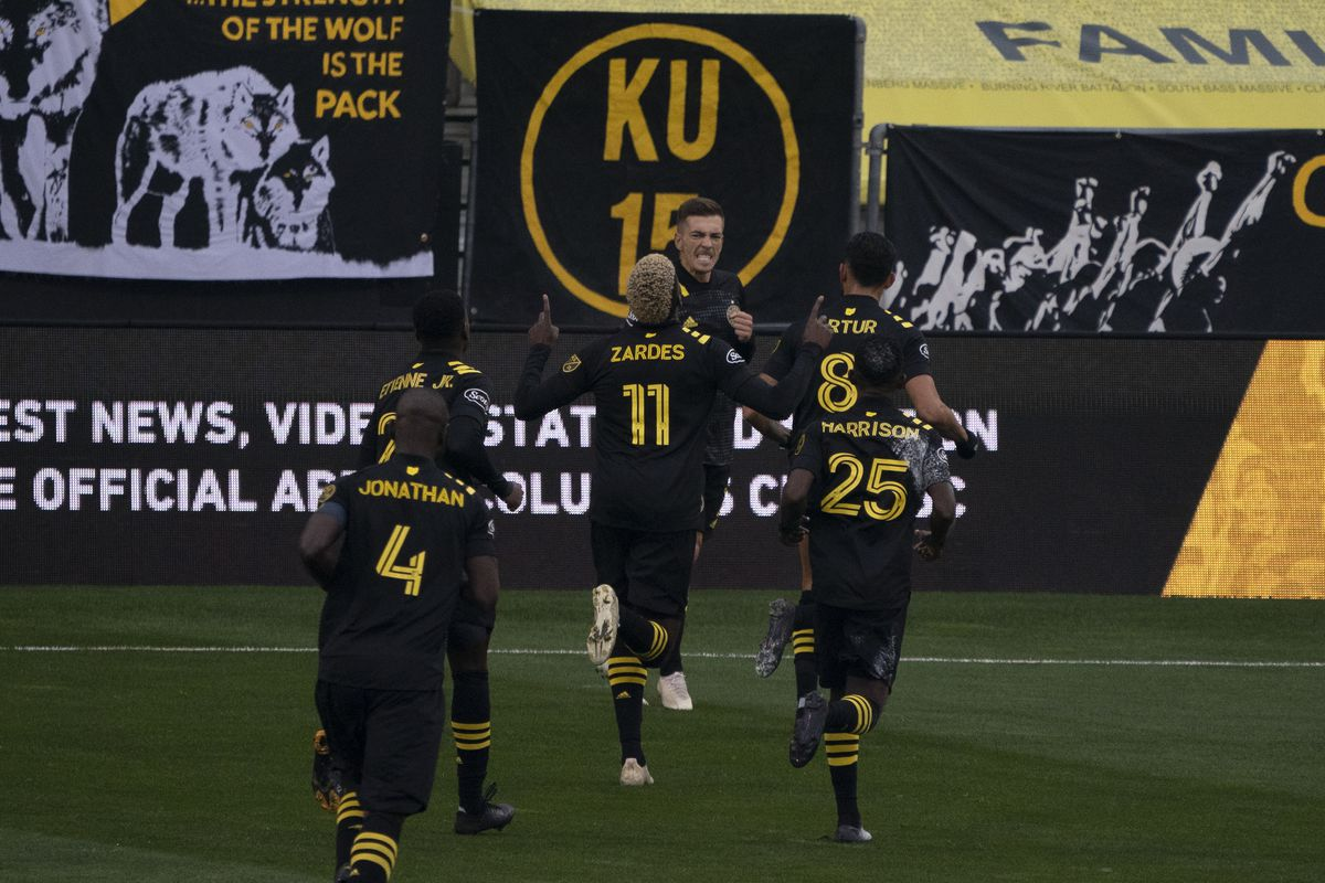 SOCCER: NOV 21 MLS Cup Playoffs Eastern Conference Round One - NY Red Bulls at Columbus Crew SC