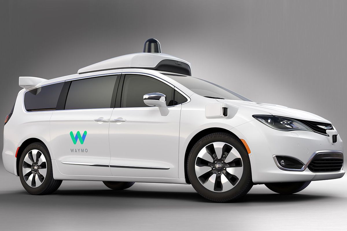 a Waymo self-driving car