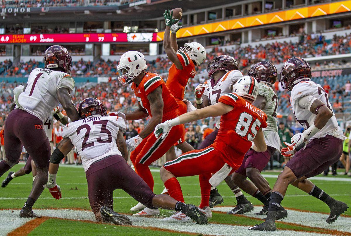 Miami Hurricanes 2020 Game Preview Virginia Tech Hokies State Of The U