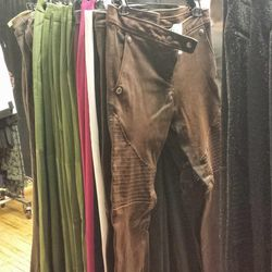 Leather pants sizes 2, 4 $186.75