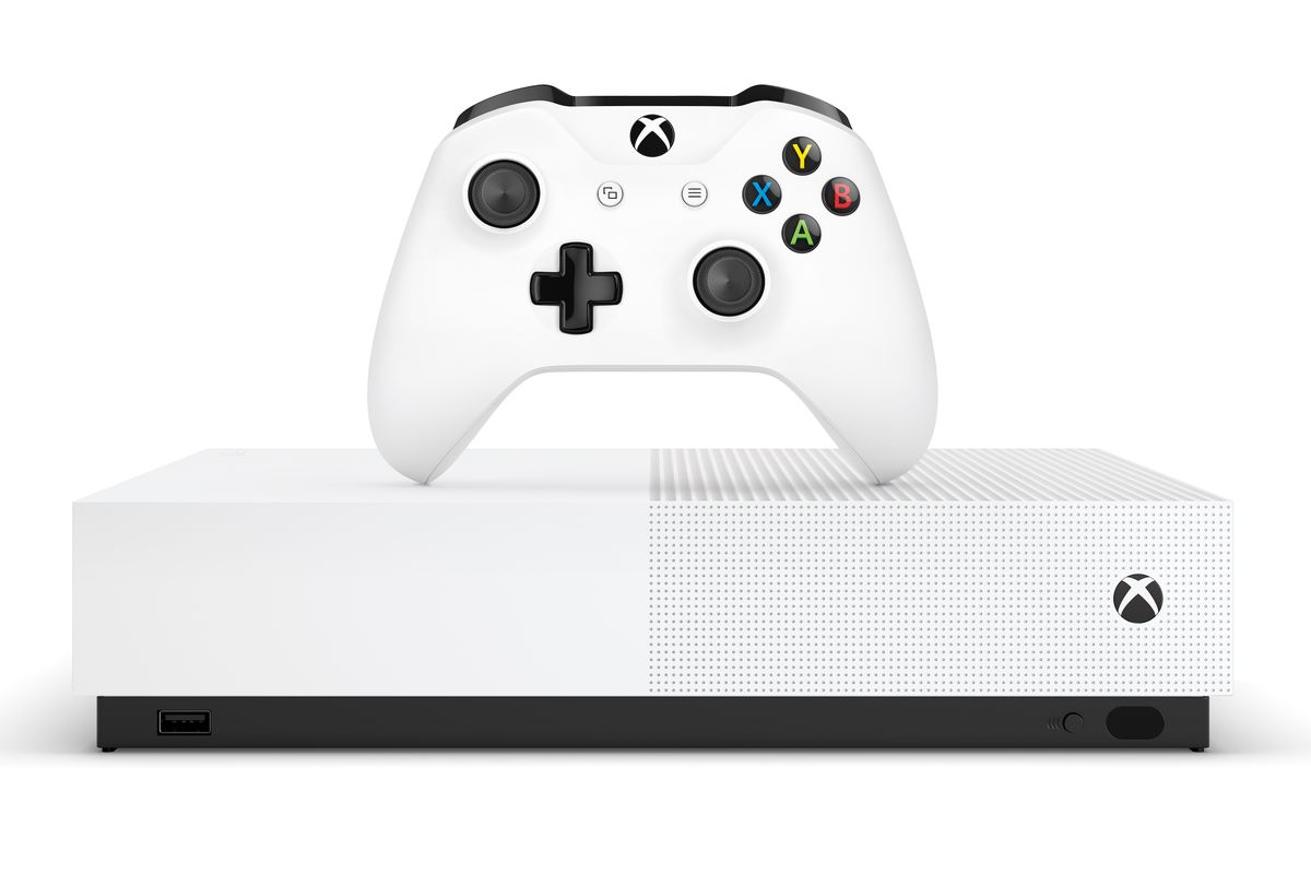 Xbox One S All Digital Edition Release Date And Price Announced