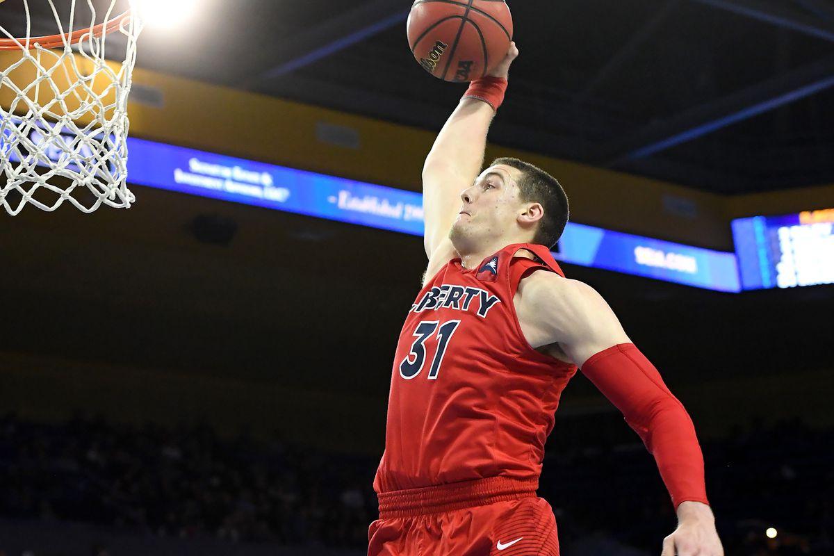 NCAA Basketball: Liberty at UCLA