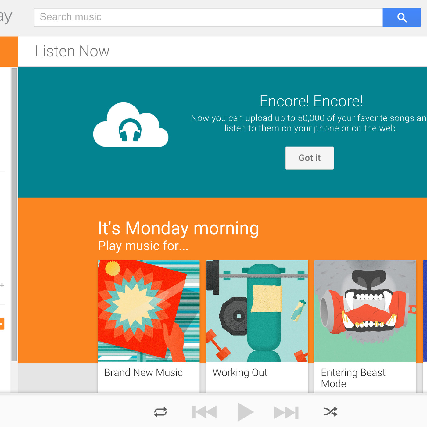 Google Now Lets You Upload  Songs To The Cloud For Free The Verge