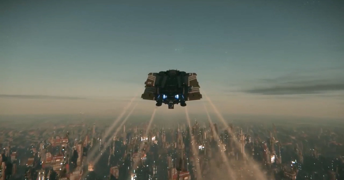 Star Citizen S Fan Convention Introduced A Planet Sized