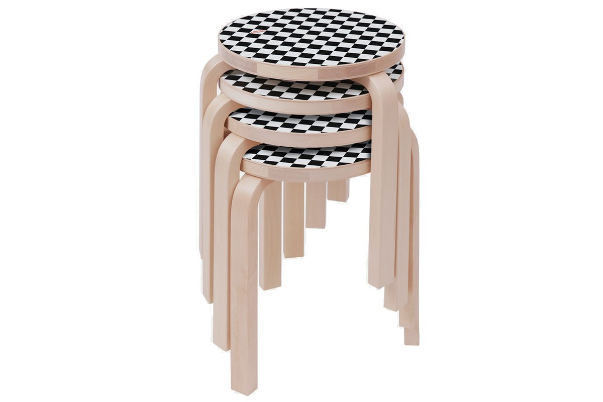 Alvar Aalto S Iconic Stool 60 Gets Cool Kid Cred From