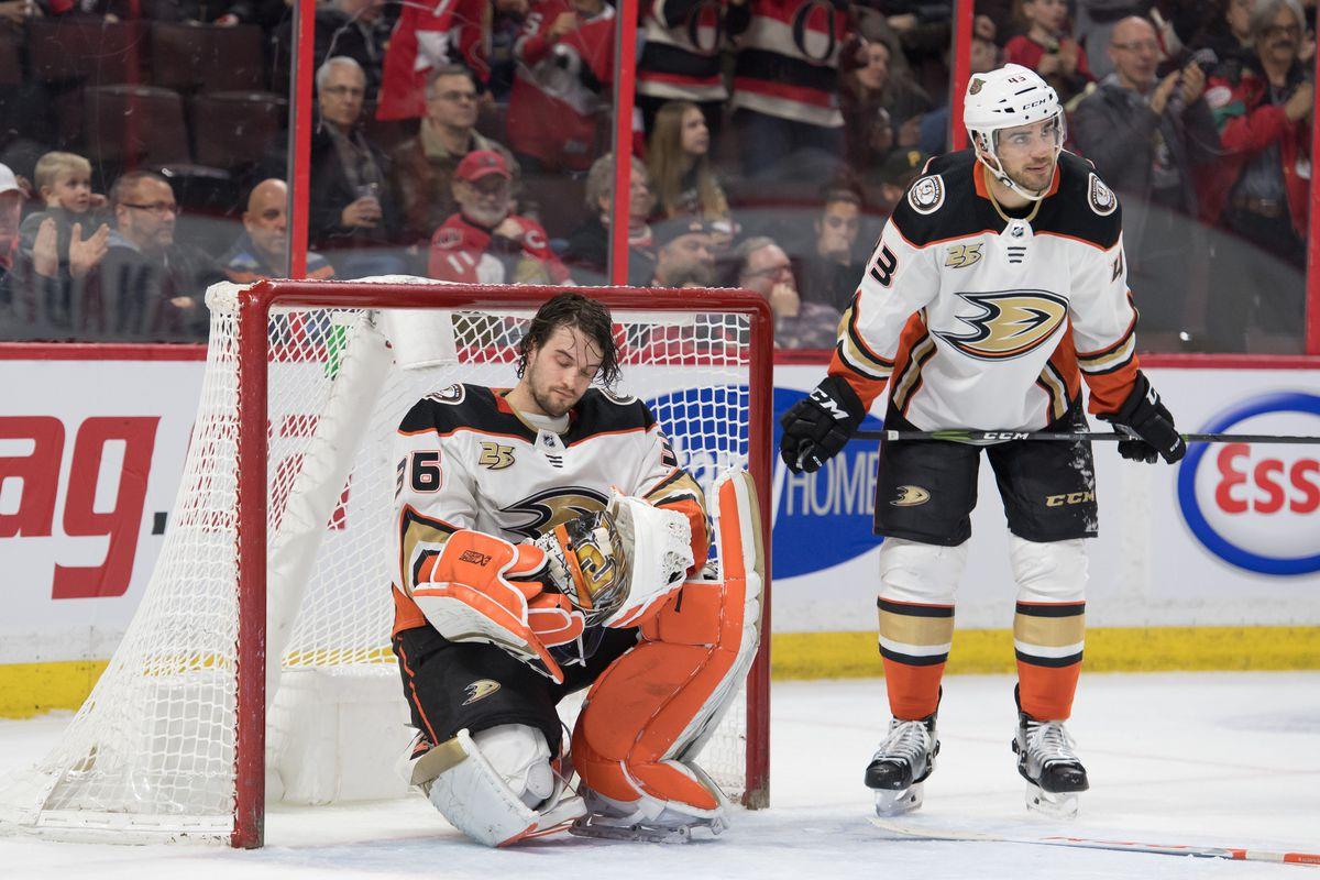 NHL: Anaheim Ducks at Ottawa Senators