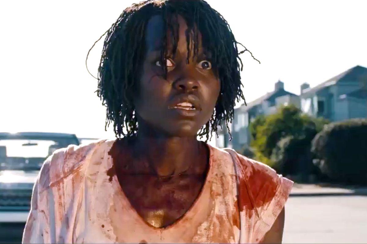 """Lupita Nyong'o in the movie """"Us."""""""