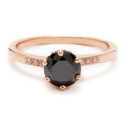 "<b>Anna Sheffield</b> Hazeline Black Diamond, <a href=""http://www.annasheffield.com/products/hazeline-black-diamond"">$2,500</a>"