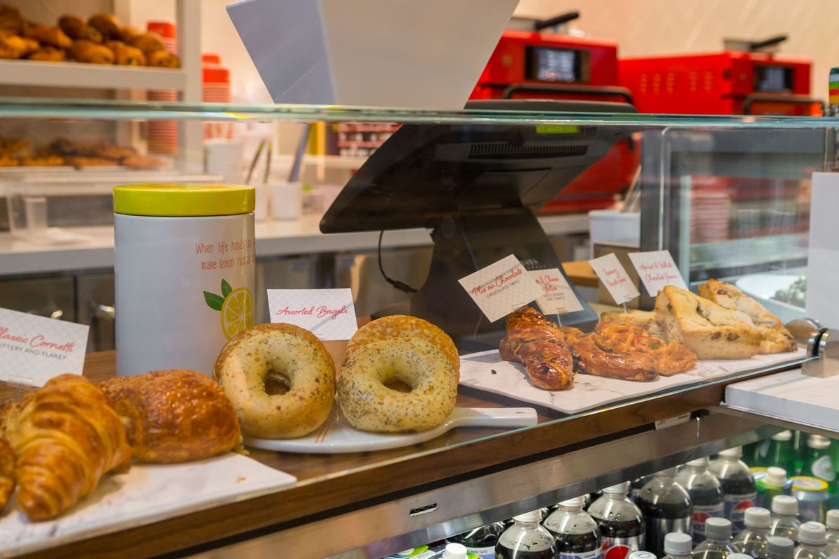 Pastries and sweets at Pronto by Giada
