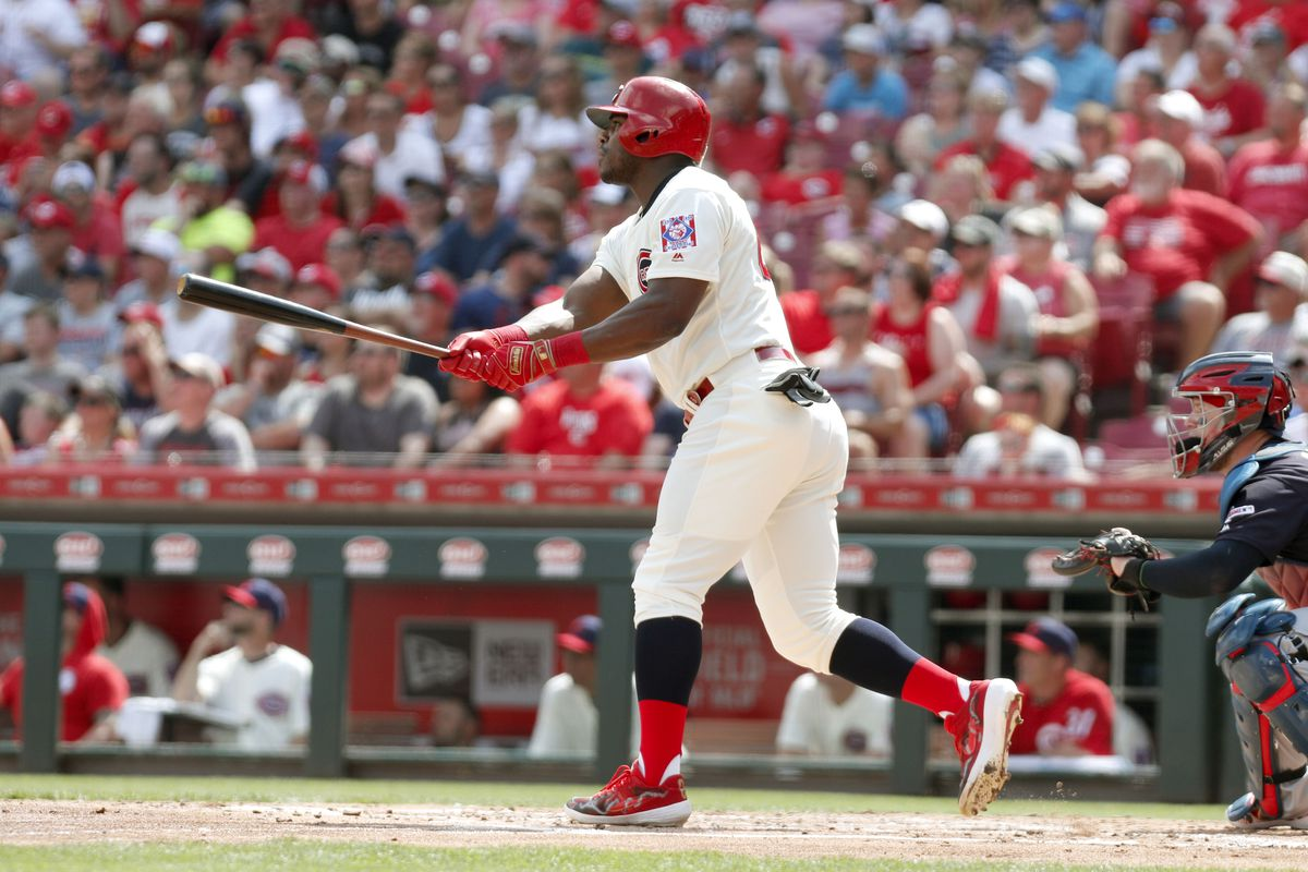 MLB: Cleveland Indians at Cincinnati Reds
