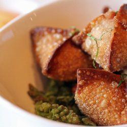 "Fried Duck Dumplings from Momofuku Ssäm Bar by <a href=""http://www.flickr.com/photos/bradleyhawks/8052495028/in/pool-eater"">Amuse * Bouche</a>"