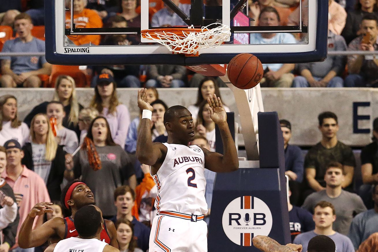 NCAA Basketball: Mississippi at Auburn