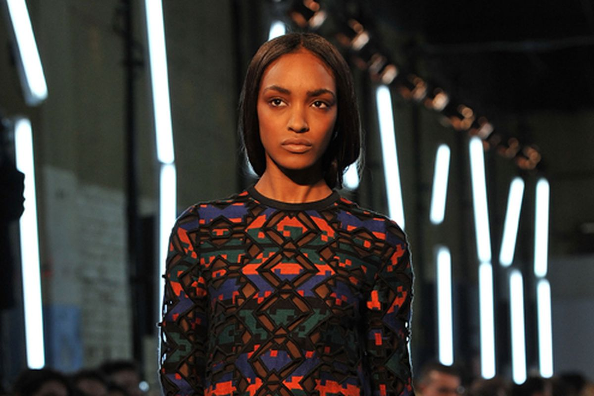 A look from Proenza Schouler fall 2011. Image via Getty.