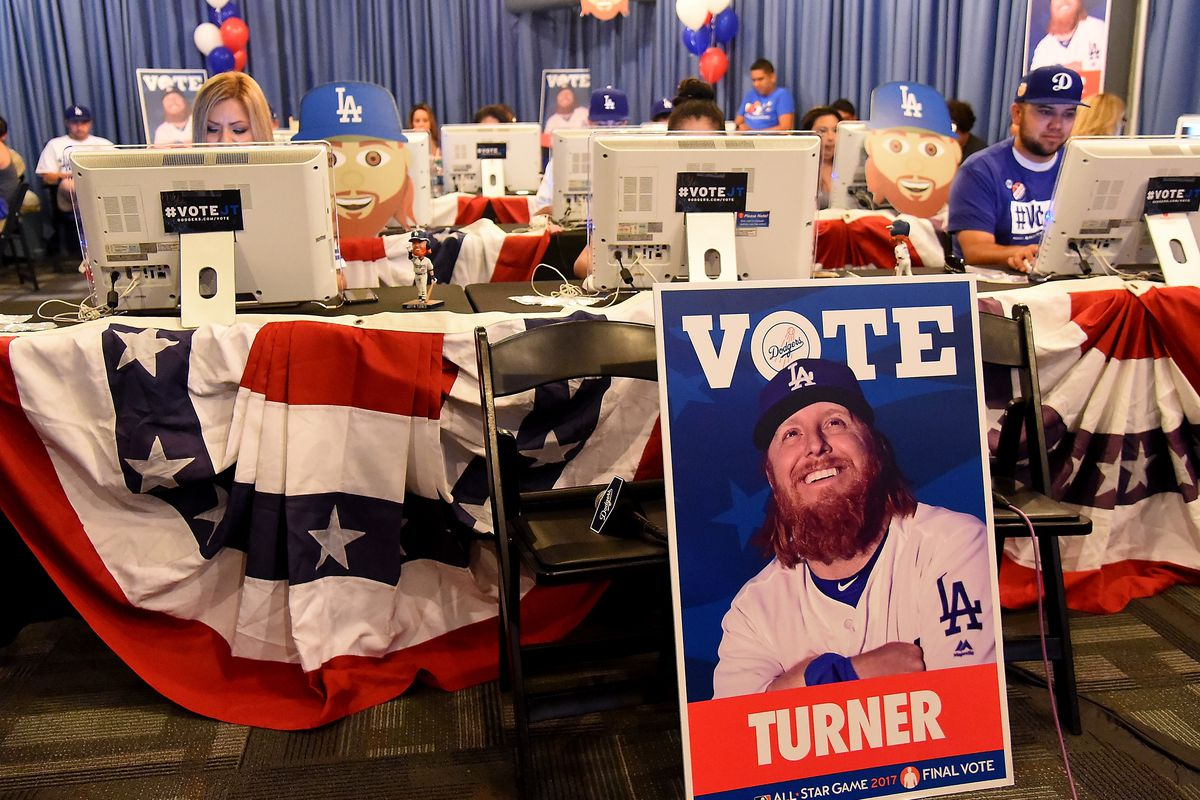 Dodgers' Justin Turner Wins All-Star Game Final Vote in Record Fashion