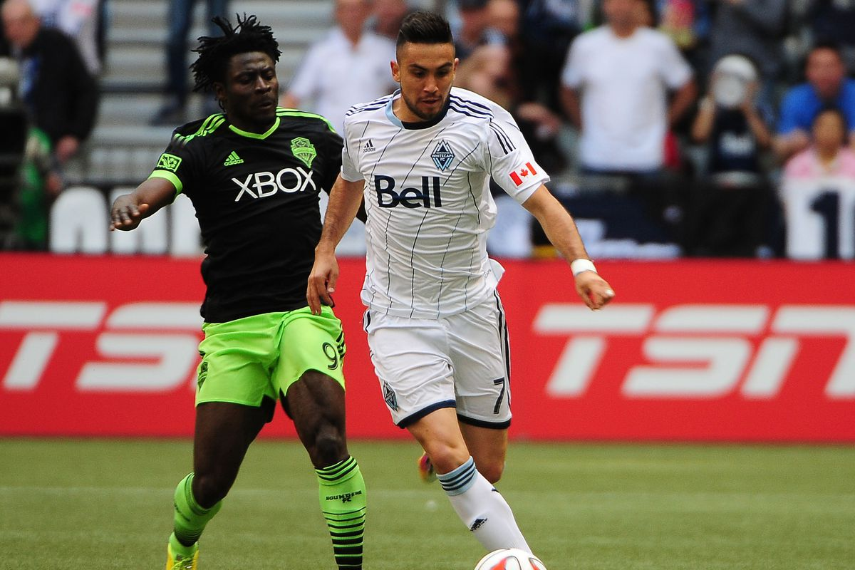 Designated Player Pedro Morales is the engine of Vancouver's offense.