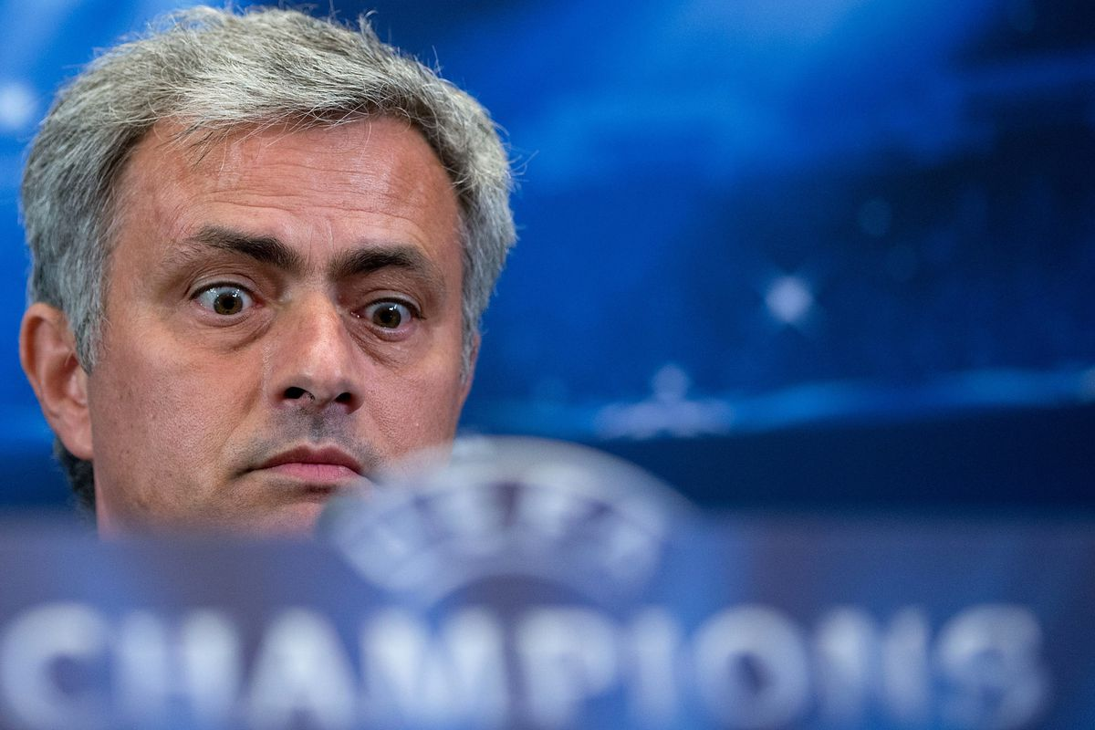 Poor Jose could feel it all fading. What could he do? Staring. Yes. That would work.