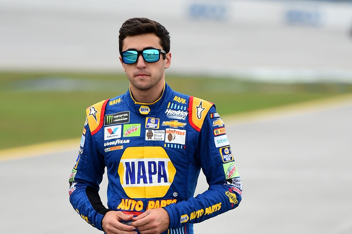 Chase Elliott misses qualifying after No