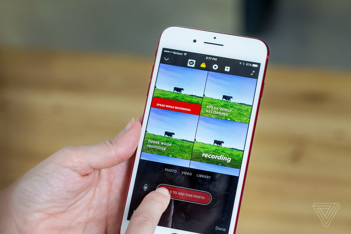 Apple's Clips app is iMovie for the next generation - The Verge