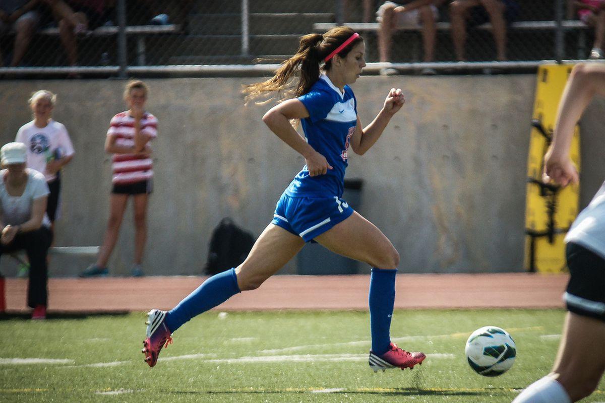 Erika Tymrak has a become a force for FC Kansas City in midfield