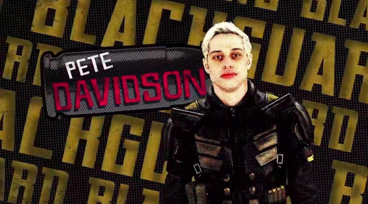 Pete Davidson as Blackguard in The Suicide Squad