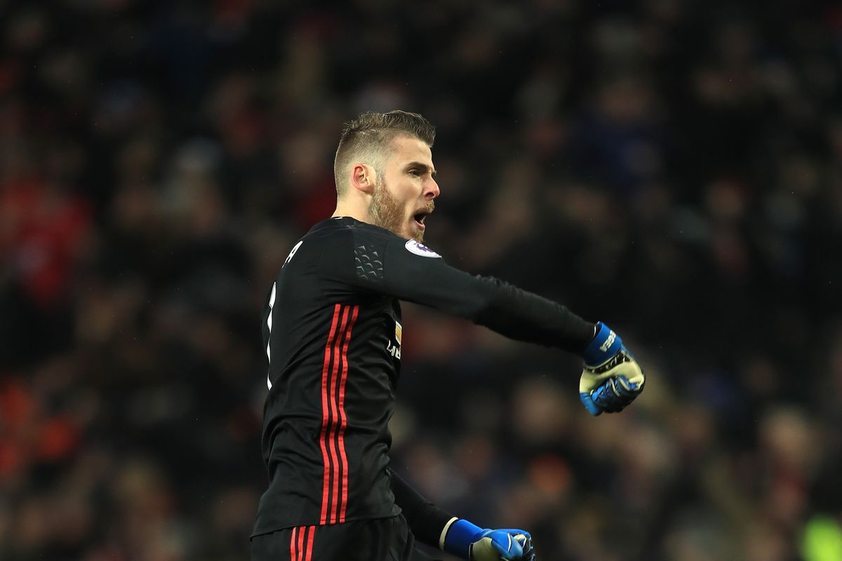 David de Gea named to PFA Premier League Team of the Year The