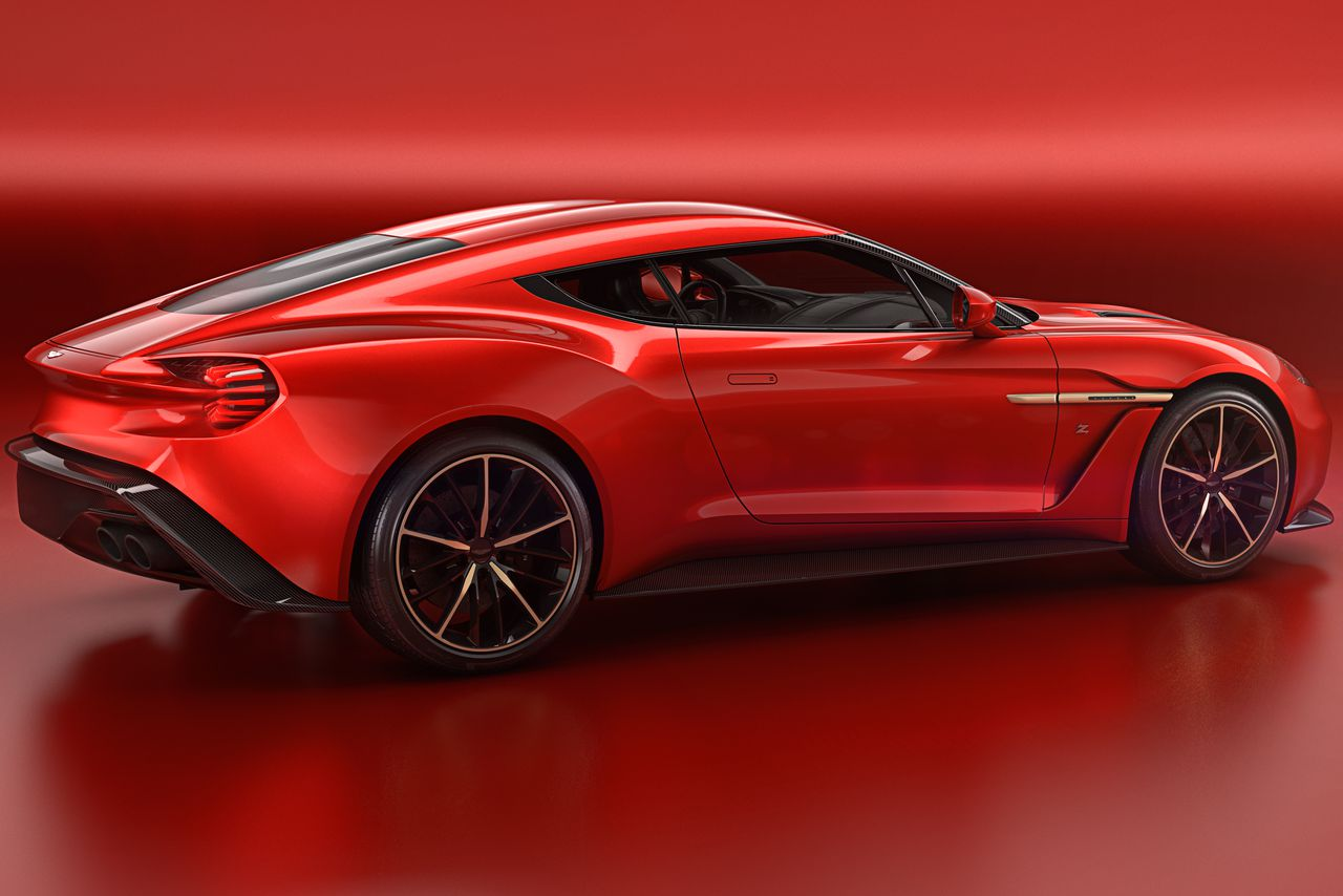 Aston Martin S Most Beautiful Car In Years Is The Vanquish Zagato