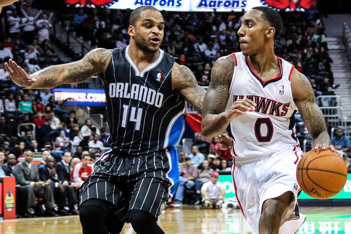 Jameer Nelson and Jeff Teague