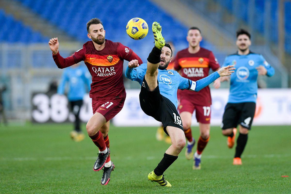 AS Roma v Spezia Calcio - Serie A