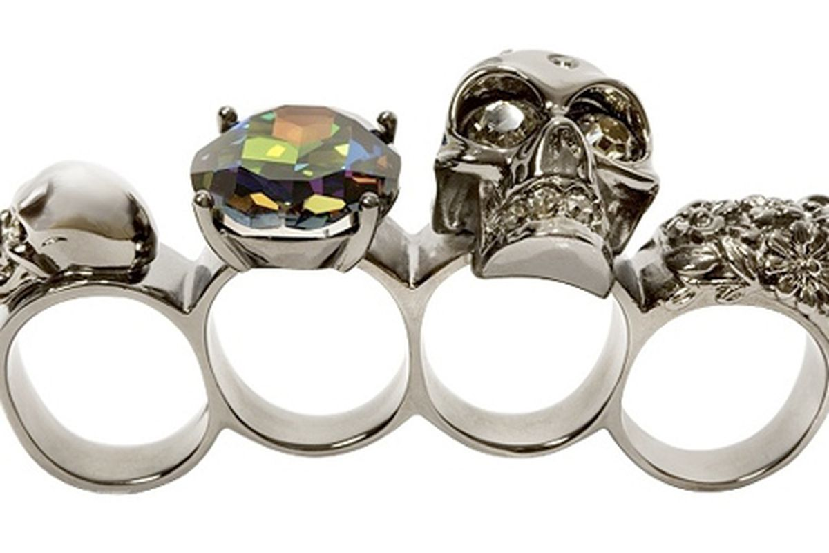 """Holy cow, Alexander McQueen brass knuckles!  Via <a href=""""http://www.boingboing.net/2009/10/29/haute-death-couture.html"""">BoingBoing</a>"""