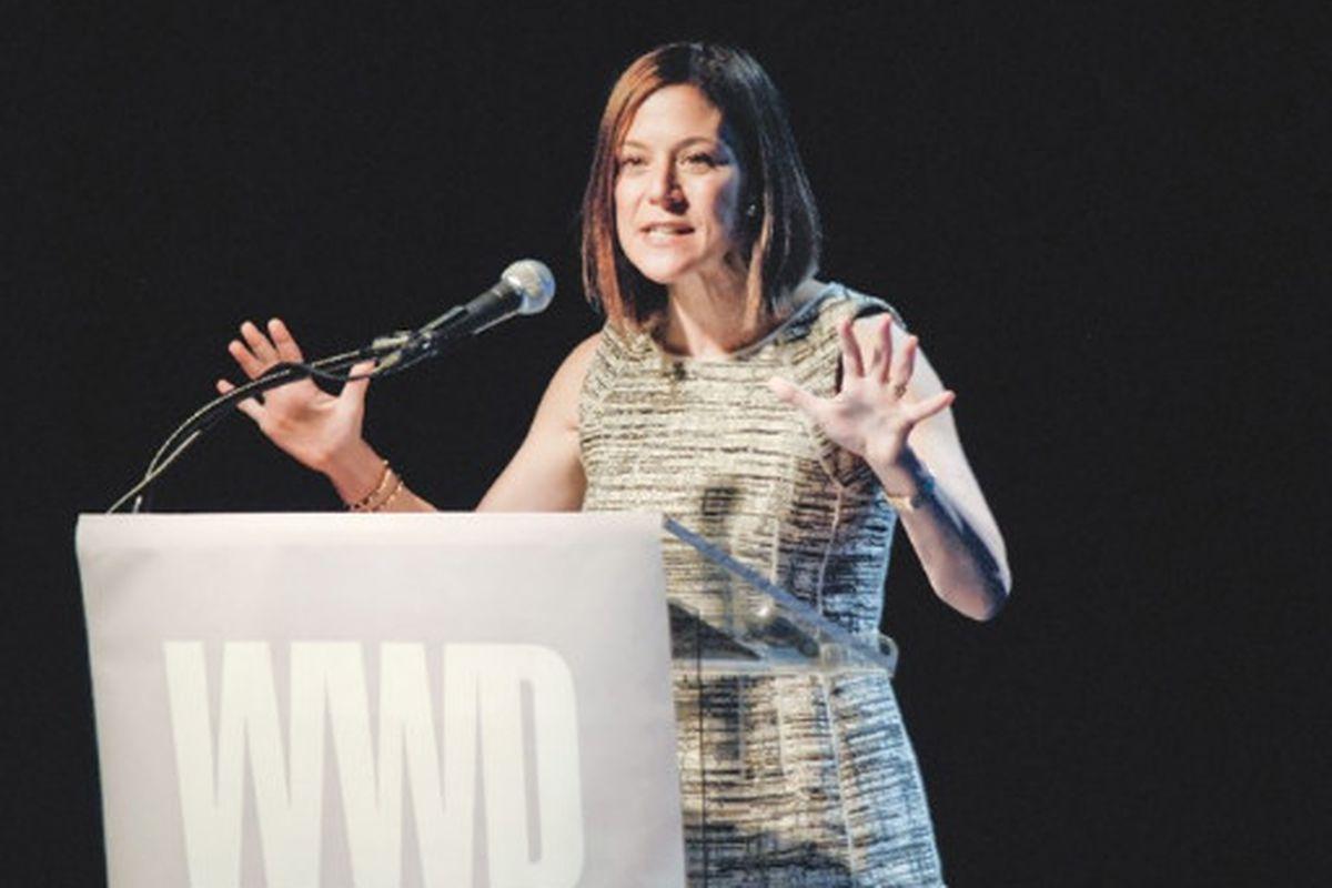 "Gina Sanders image via <a href=""http://www.wwd.com/media-news/lucky-identifies-alpha-shoppers-2321140?module=today"">WWD</a>"