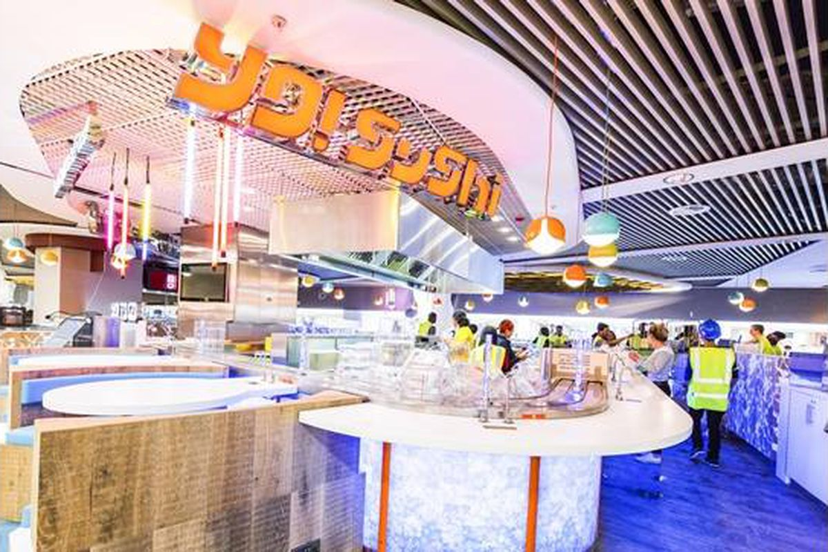 Yo Sushi On Track To Open In Seaport This October Eater