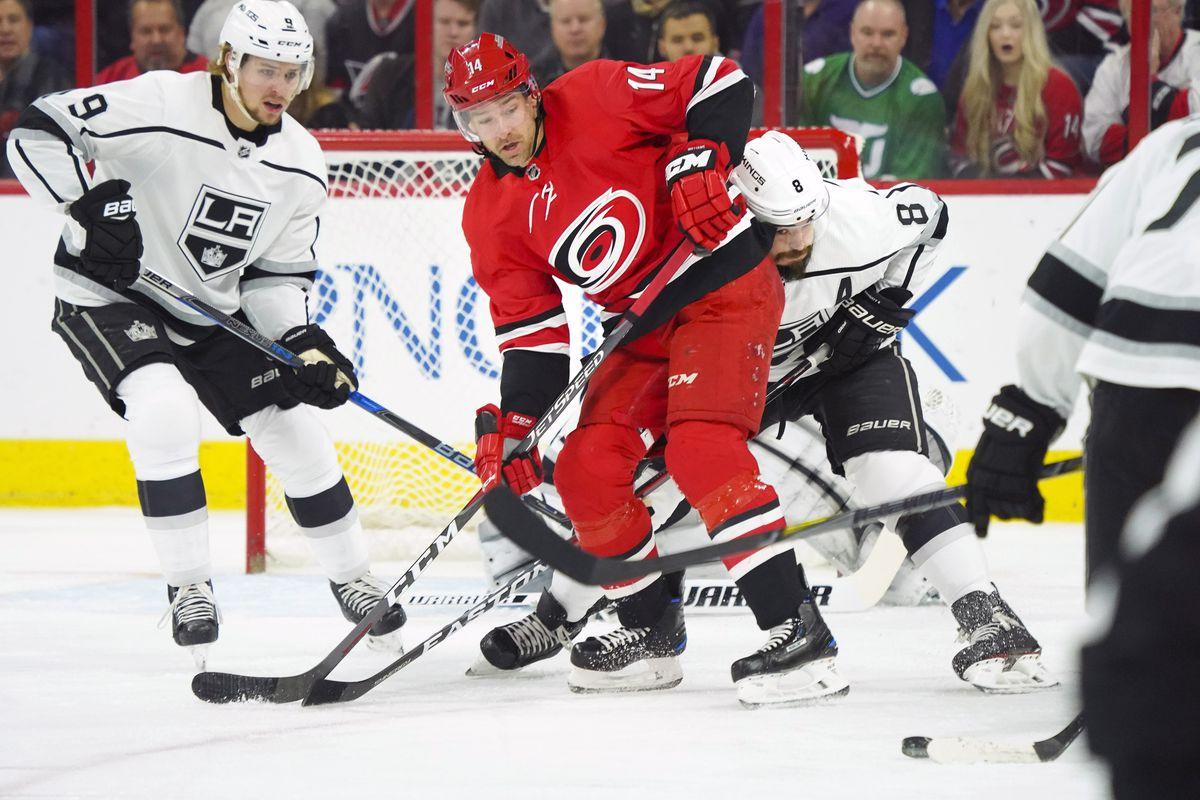 NHL: Los Angeles Kings at Carolina Hurricanes