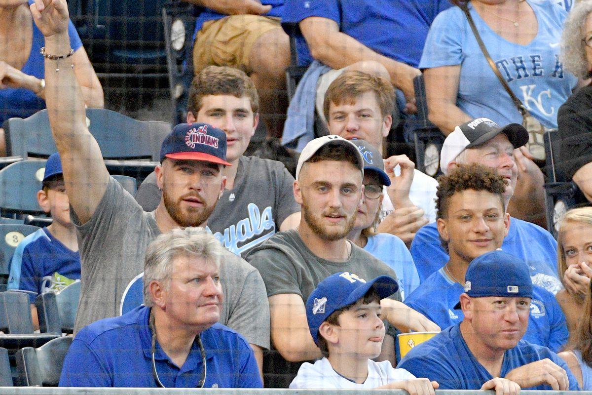MLB: Cleveland Indians at Kansas City Royals
