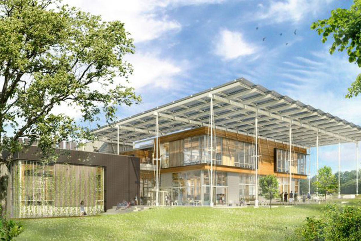 Rendering of The Living Building