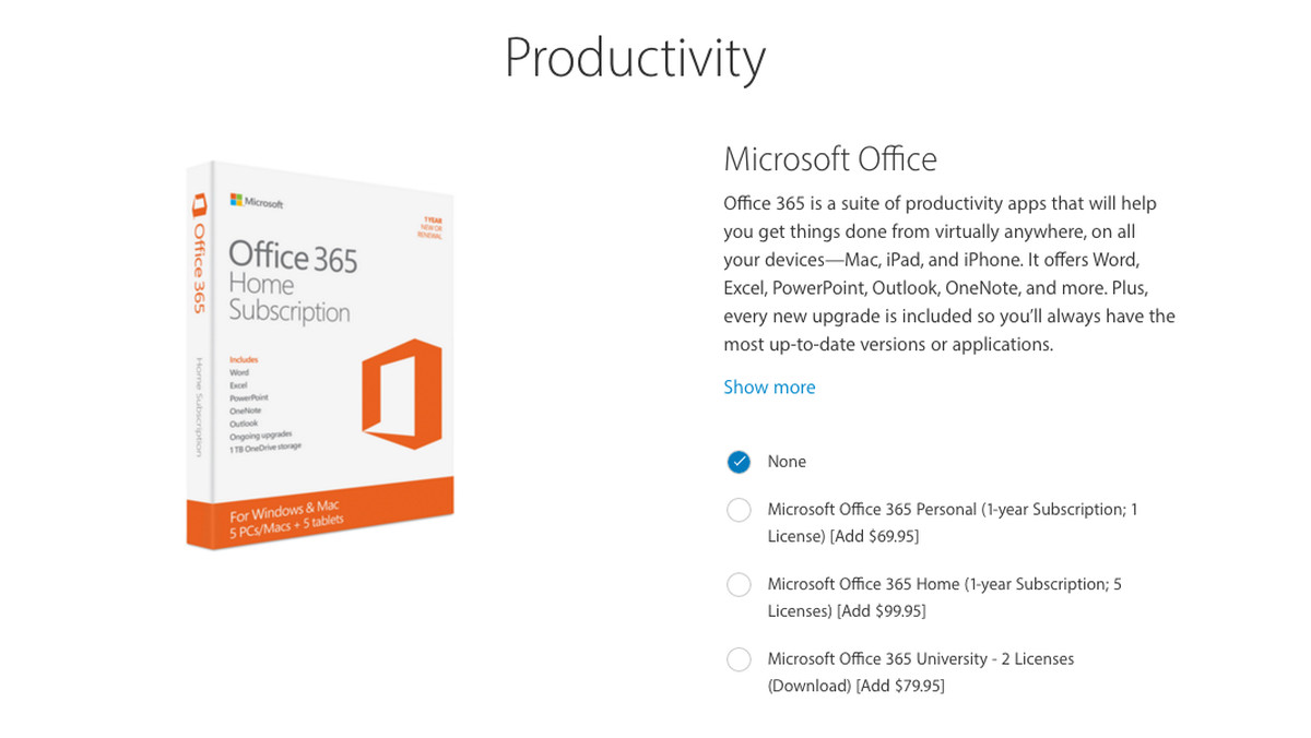 Apple is selling Microsoft Office 365 as an accessory for the iPad ...