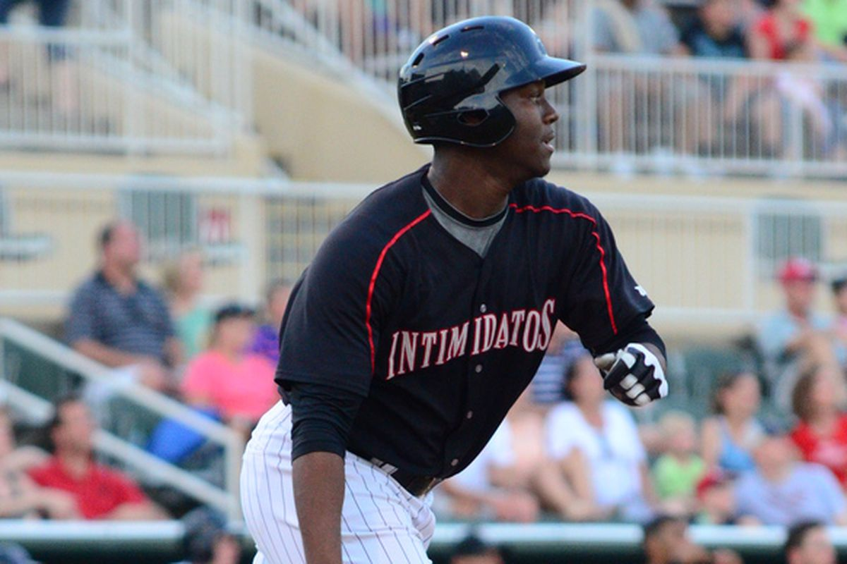 Keon Barnum is back in the lineup after a scary collision at home plate.
