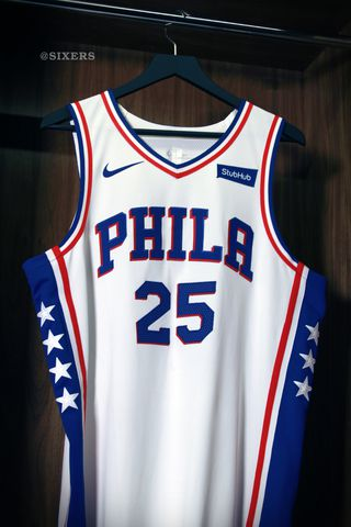 purchase cheap dc84e 9b989 The Sixers' new Nike jerseys look gorgeous - Liberty Ballers