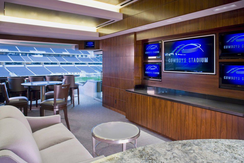 Luxury Suites Rule in Professional Sports Revenue