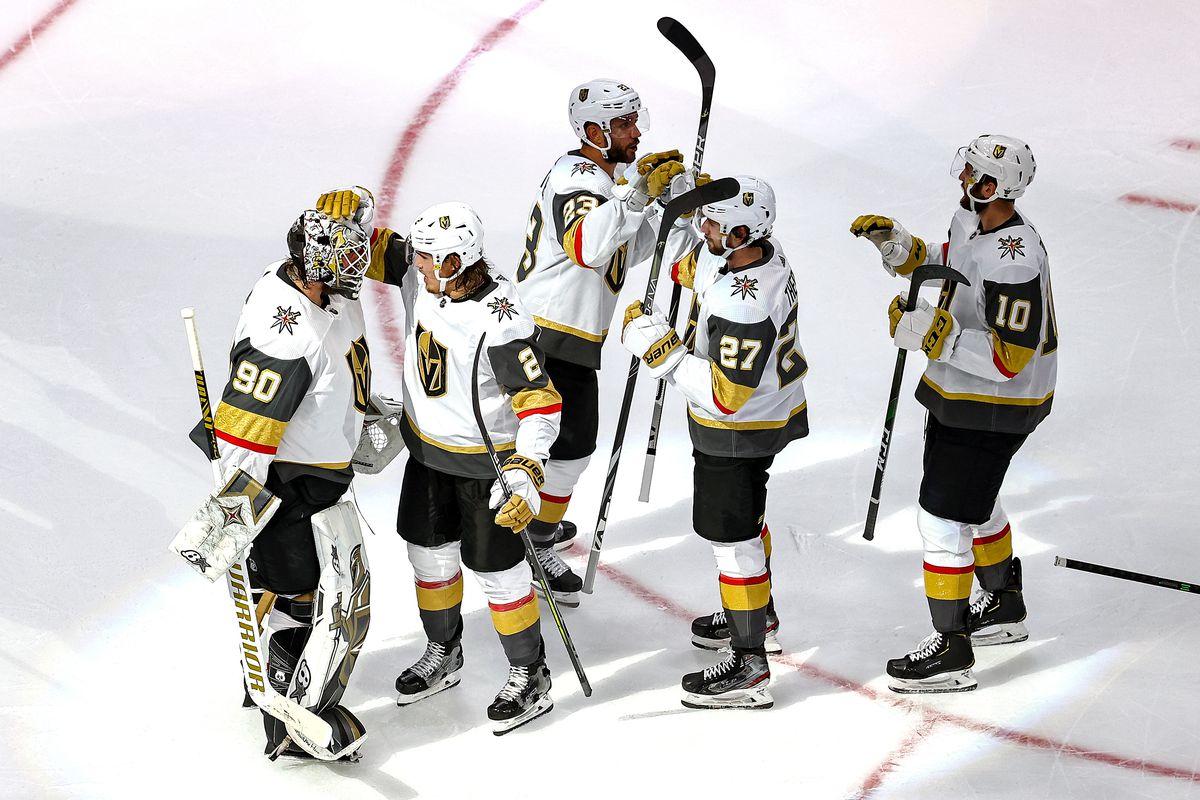 Vegas Golden Knights v Vancouver Canucks - Game Three
