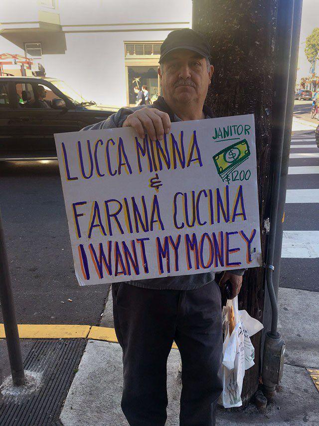 Farina employee