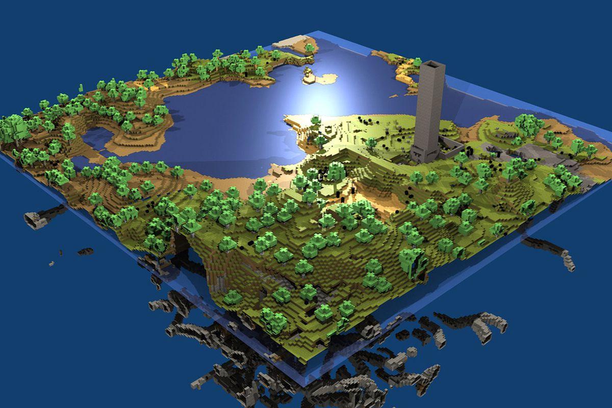 Resultado de imagen para minecraft far lands